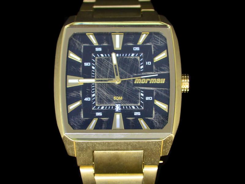 Relógio Mormaii Analógico Dourado