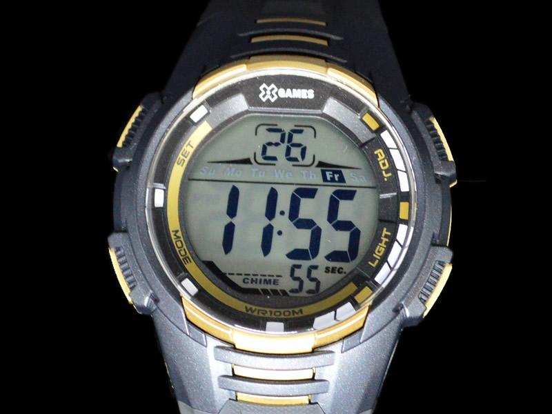 Relógio X Games Pulseira de Borracha