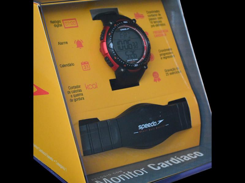 Relógio Speedo Digital com Monitor Cardíaco